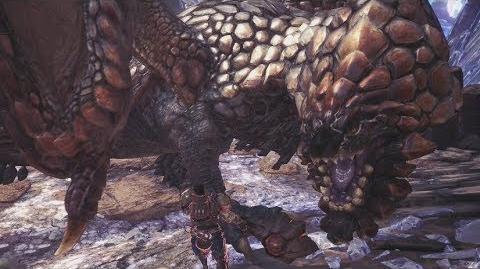 Monster Hunter World Bazelgeuse Boss Fight 25 (Solo Hammer)