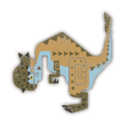 MHW-Kestodon Female Icon