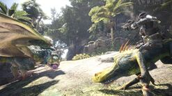 MHWI-Jagras and Pukei-Pukei Screenshot 001