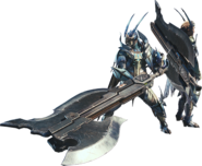 MHW-Switch Axe Equipment Render 001