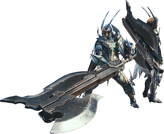 File:MHW-Switch Axe Equipment Render 001.png