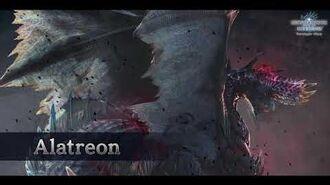 MHW Iceborne OST Alatreon Mount Theme