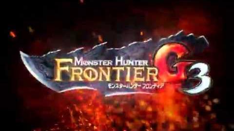 Monster Hunter Frontier G3