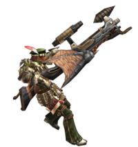 2ndGen-Heavy Bowgun Equipment Render 001