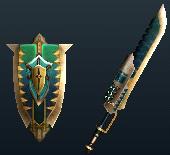 K. Captain's Blade