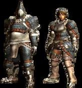 MHGU-Gypceros Armor (Blademaster) Render