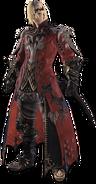 MHW x FFXIV-Rathalos Armor (Male) Render 001