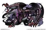 Puzzles And Dragons Gore Magala Artwork 001