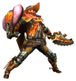 MHP3-Sword and Shield Equipment Render 001