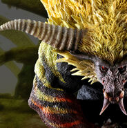 Capcom Figure Builder Creator's Model Golden Rajang 007