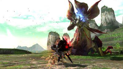MHGU-Soulseer Mizutsune Screenshot 006