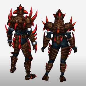 FrontierGen-Divol Armor 010 (Both) (Back) Render