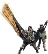 MHW-Great Sword Equipment Render 001