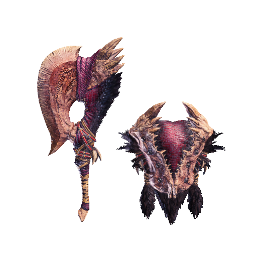MHW-Sword and Shield Render 030