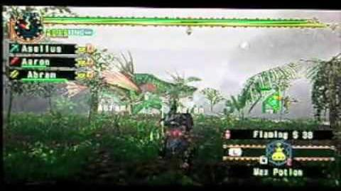 Monster Hunter Freedom Unite - HR7 Green Plesioth