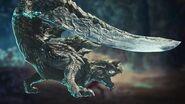 Acidic Glavenus Gameplay - Monster Hunter World Iceborne