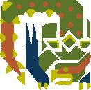 MH10th-Green Nargacuga Icon