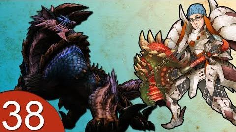 Monster Hunter 4 Nubcakes 38 - FERAL Zinogre English commentary online gameplay