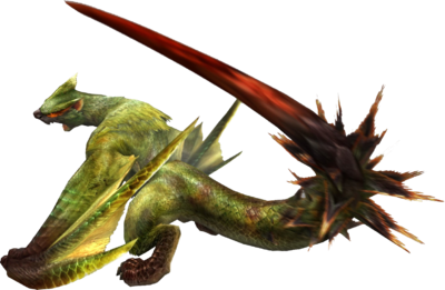 3rdGen-Green Nargacuga Render 001