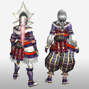 FrontierGen-Burango G Armor (Gunner) (Back) Render