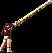 MH4G-Long Sword Equipment Render 001