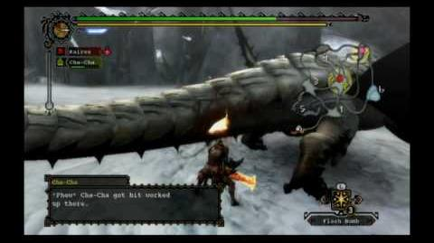Monster Hunter 3 - Barioth Guide (Part 1 2)