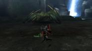 MHP3-Green Nargacuga Screenshot 007