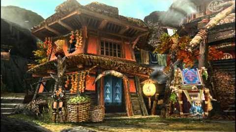 Monster Hunter Portable 3rd Yukumo Village Intro Part 2