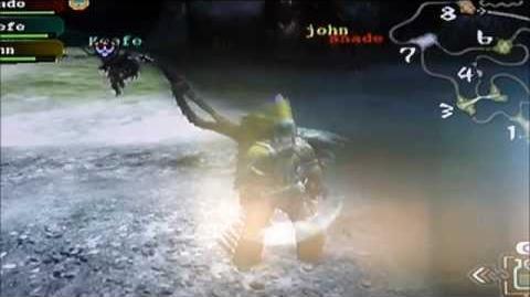 DEVILJHO Monster Hunter Tri