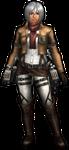 FrontierGen-Survey Corps Armor (Female) (Both) (Front) Render
