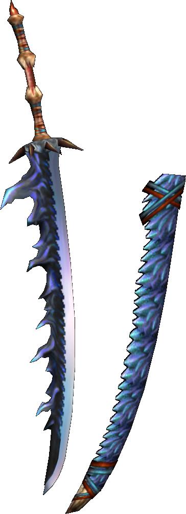 Smolder Dragonsword MHFU Weapon455