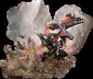 MHGU-Bloodbath Diablos Render 002