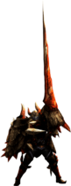 MH4U-Lance Equipment Render 001