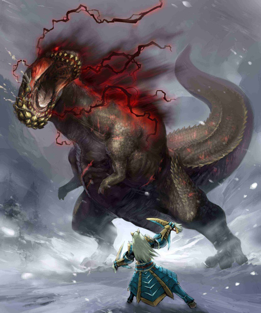 Savage Deviljho Photo Gallery Monster Hunter Wiki Fandom