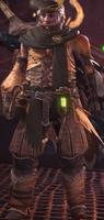 Jagras α Armor (MHW)