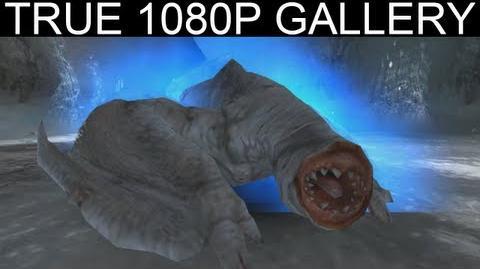07 - Light in the Dark 1080p Khezu フルフル - Monster Hunter Freedom Unite Gallery MHFU