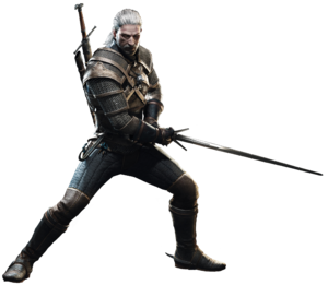 MHW-Geralt of Rivia Render 002