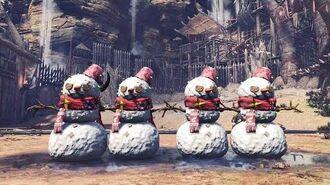 MHW Iceborne Nerf Snowballs