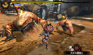MH4U-Congalala and Tigerstripe Zamtrios Screenshot 002