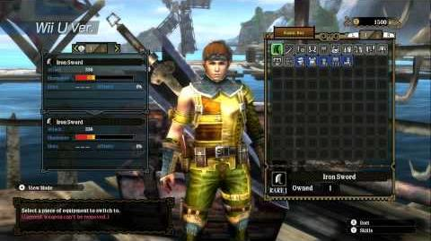 Monster Hunter 3 Ultimate - New York Comic Con 2012 Trailer