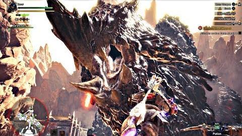 Monster Hunter World - Zorah Magdaros & Nergigante Boss Fight PS4 Pro