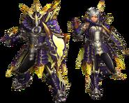 FrontierGen-Rebi G Armor (Gunner) Render 2