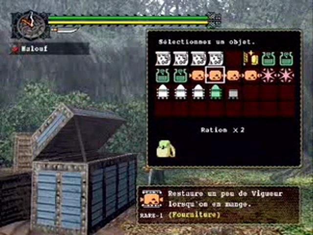 Monster Hunter (PS2) - Video Monster Hunter - Mode Online