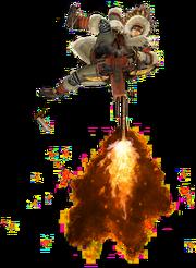 MHGen-Light Bowgun Equipment Render 002