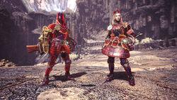 MHW-Teostra Gamma Armor Screenshot 001