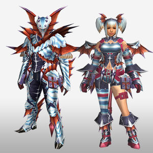 FrontierGen-Puranda G Armor (Blademaster) (Front) Render