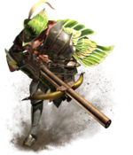 MHGen-Light Bowgun Equipment Render 001