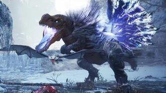 Monster Hunter World Iceborne - Fulgur Anjanath Boss Fight (Solo Longsword)