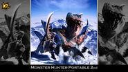 MH 10th Anniversary-Monster Hunter Freedom 2 Wallpaper 001