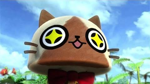 3DS『モンハン日記 ぽかぽかアイルー村DX(デラックス)』オープニングムービー